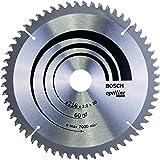Bosch Professional Kreissägeblatt Optiline Wood zum Sägen in Holz für Kapp- und Gehrungssägen (Ø 216 mm)
