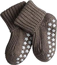 Falke Unisex Baby Socken Cotton Catspads, Blickdicht, 1er Pack
