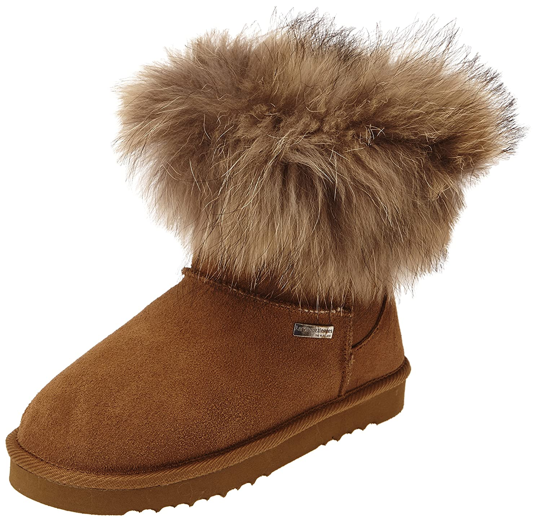 bottines femme fourrees hiver