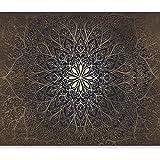murando - Fotobehang Mandala 350x256 cm Vliesbehang Muurschildering Muur Behang Moderne Wanddecoratie Wandschilderijen XXL Wo