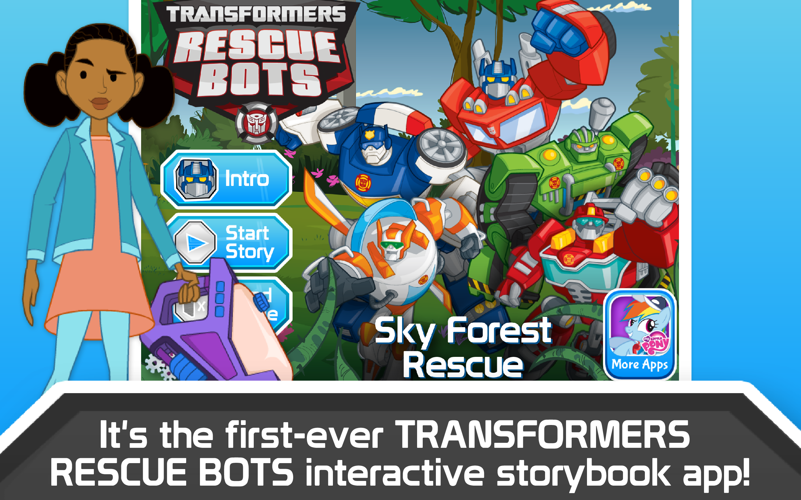 Transformers Rescue Bots: Sky Forest Rescue: Amazon.co.uk