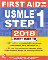 First Aid for the USMLE Step 1 (2018-2019) Session