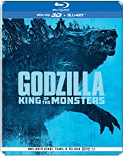 Godzilla: King of the Monsters (Steelbook) (Blu-ray 3D & Blu-ray) (2-Disc)