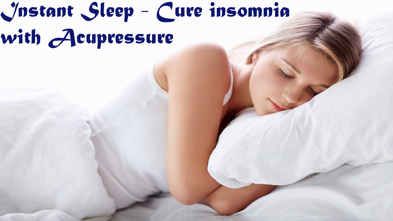 Instant Sleep - Cure insomnia with Acupressure: Amazon.co ...