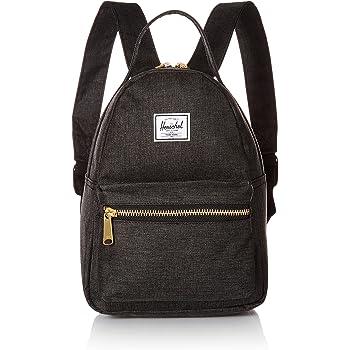 Herschel Flight Satin Nova Mini Backpack black  Amazon.co.uk  Clothing 5e471e3900