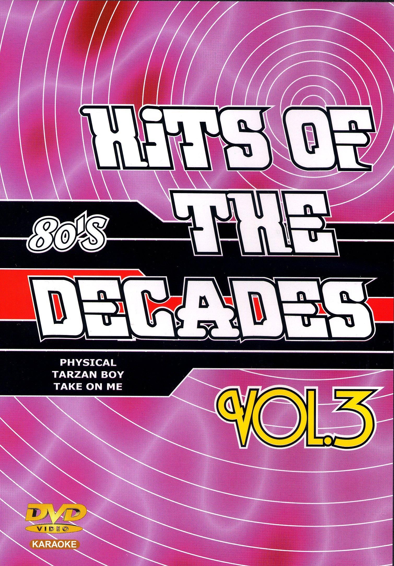 DVD Karaok� Hits Of The Decades Vol. 03 'Ann�es 80-1'