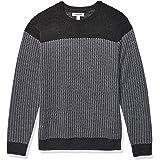 Amazon Brand - Goodthreads Men's Merino Wool Crewneck Herrinbone Sweater
