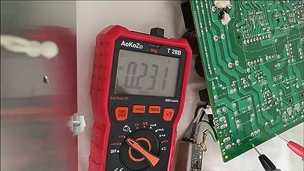 Aokozo 6000 Counts Auto Range Digital Multimeter True Rms Baumarkt