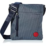 Rieker Damen H1303 Handtasche, Blau, 210x25x245