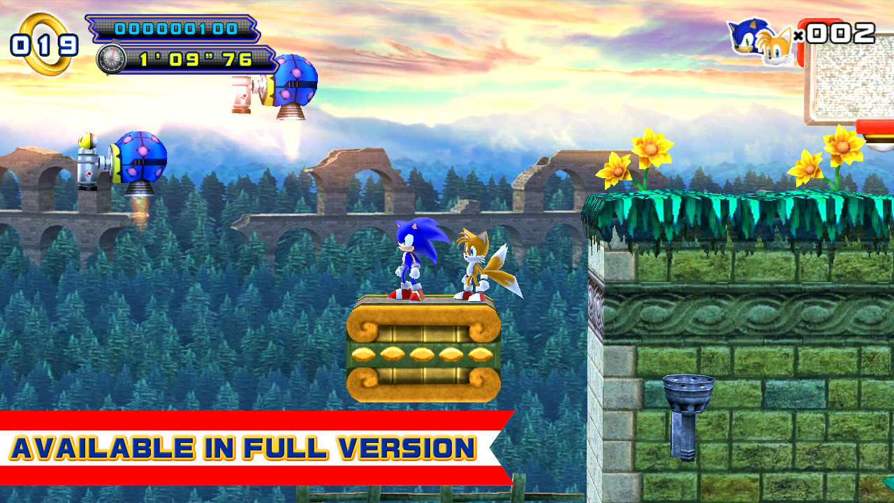 Image of Sonic The Hedgehog 4 Episode II Lite