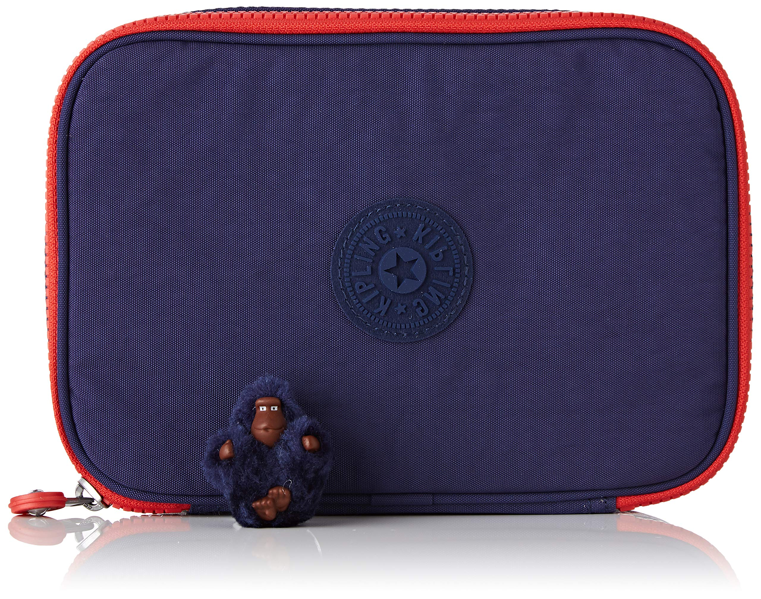 Kipling 100 PENS Plus Estuches, 21 cm, 1.5 Liters, Azul (Polish Blue Fun)