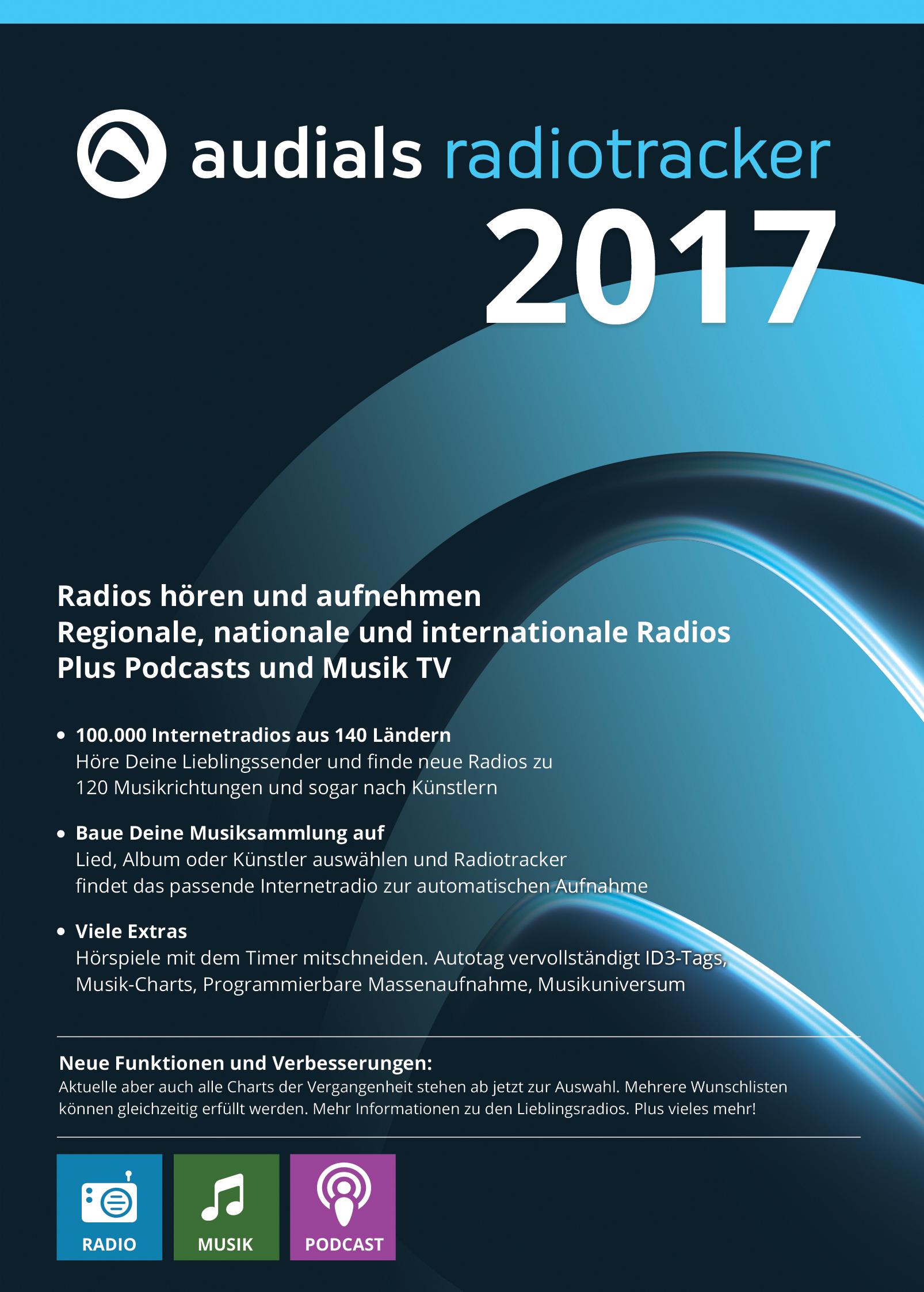Audials Radiotracker 2017 ist der günstige Einstieg in die Welt der Internetradios [Download]