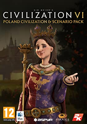 Sid Meier's Civilization VI - Poland Civilization & Scenario Pack (Mac) [Mac Code - Steam] from 2K