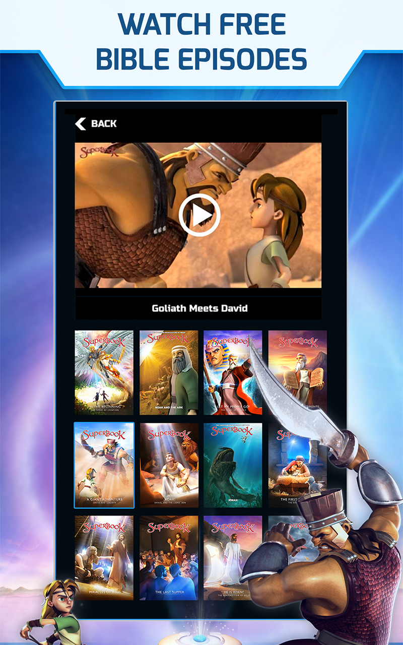 Superbook Kids Bible Videos And Games Amazon Co Uk