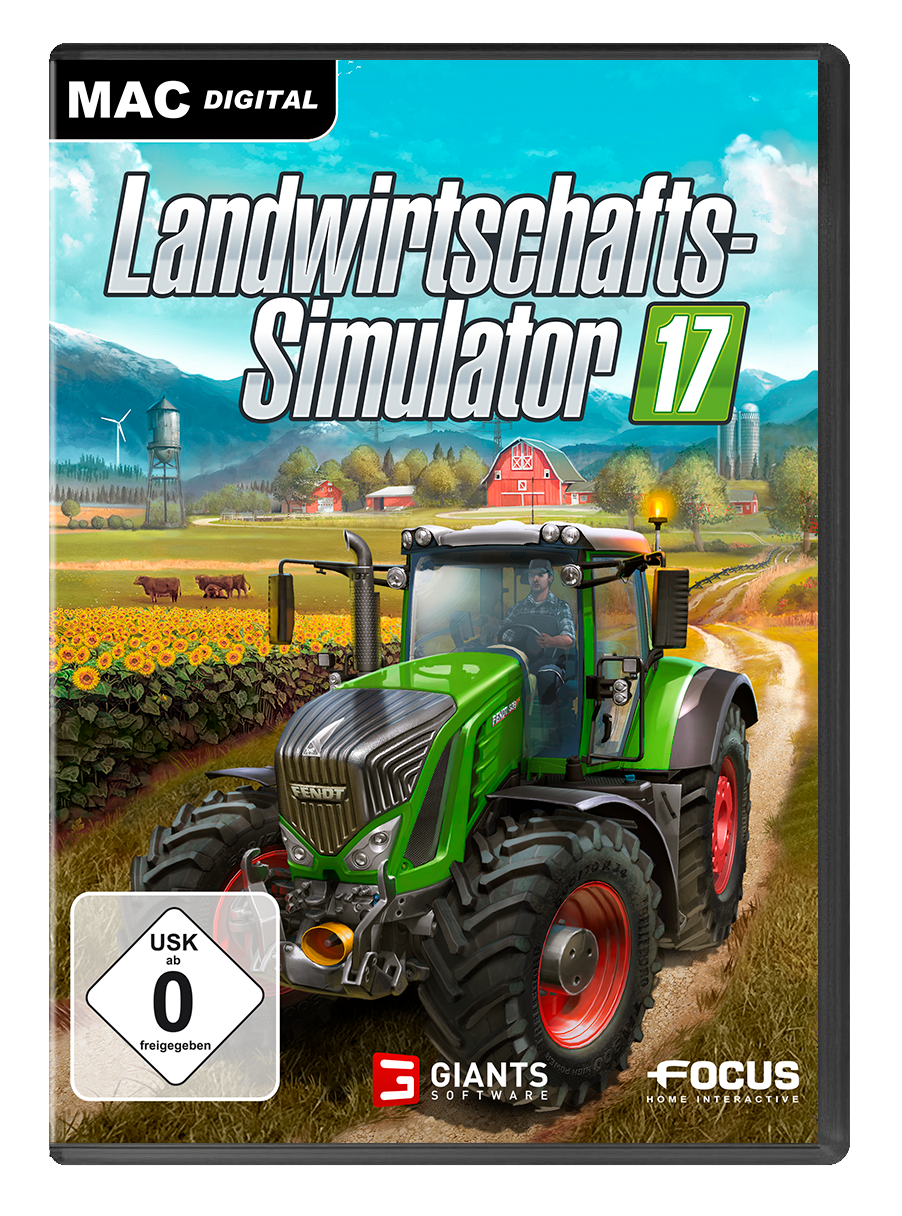 Landwirtschafts-Simulator 17 MAC [Mac Code - Steam]