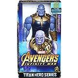 Hasbro Avengers E0572EU4 Marvel Titan Hero Power FX Thanos, Actionfigur