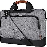 """DOMISO 17-17,3 Zoll Laptop Umhängetasche Hülle mit Riemen Kompatibel mit 17"""" Computer, 17,3"""" HP Pavilion 17/MSI GS73VR…"""