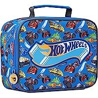 Hot Wheels Lunchbox Kinder, Brotdose Jungen für Schule und Kindergarten Lunch Tasche, Lunchbag Brotbeutel, Geschenke für…