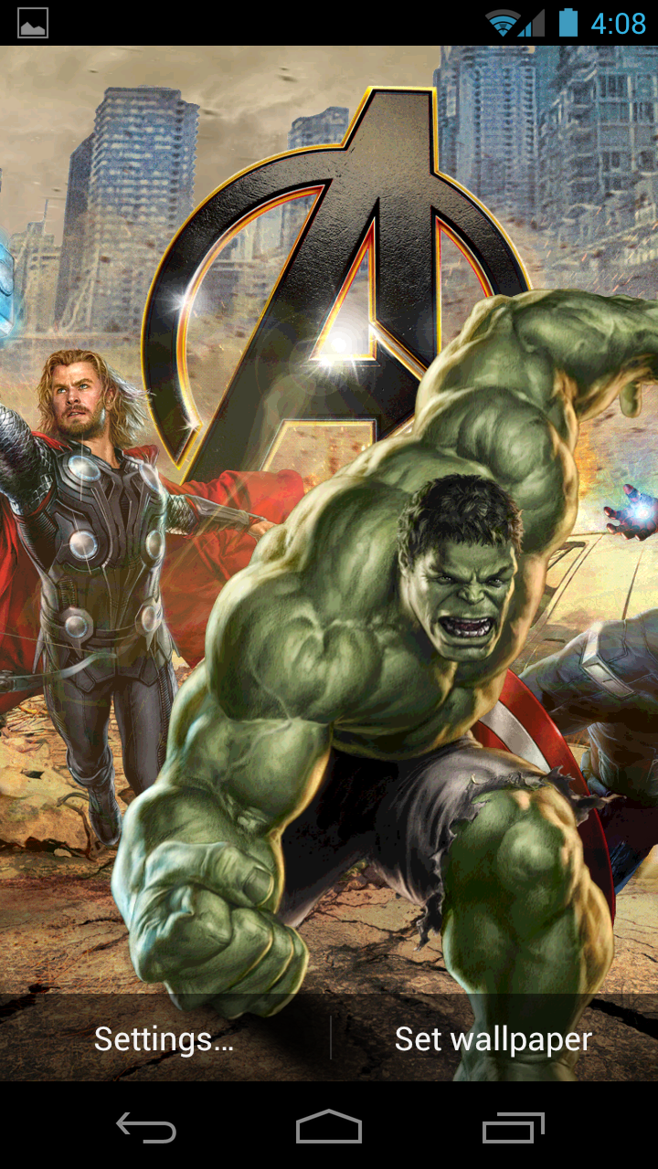The Avengers Live Wallpaper Amazoncouk Appstore For Android