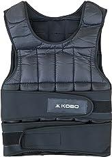 Kobo CTA-19 Nylon Weighted Vest, 10Kg (Black)