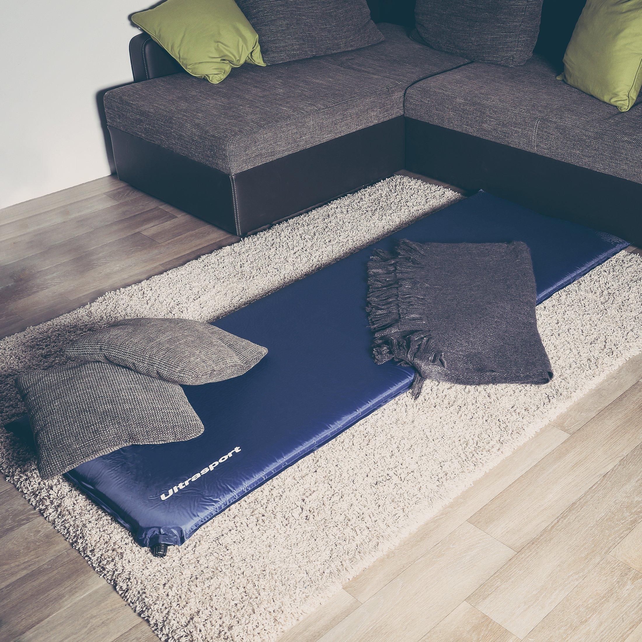 ultrasport matelas d isolation auto gonflable matelas. Black Bedroom Furniture Sets. Home Design Ideas