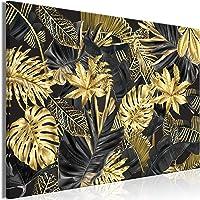 murando Impression sur Toile intissee Tropical Feuilles 60x40 cm Tableau Tableaux Decoration Murale Photo Image…