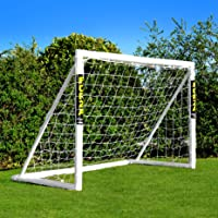 Net World Sports Forza Fussballtor 1,8m x 1,2m - Diese Fussballtore für Garten können das ganze Jahr über bei jedem…