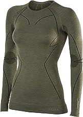 FALKE Damen Wool Tech. Long Sleeve Shirt Top