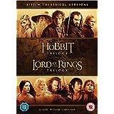 Hobbit Trilogy/The Lord Of The Rings Trilogy (6 Dvd) [Edizione: Regno Unito] [Reino Unido]