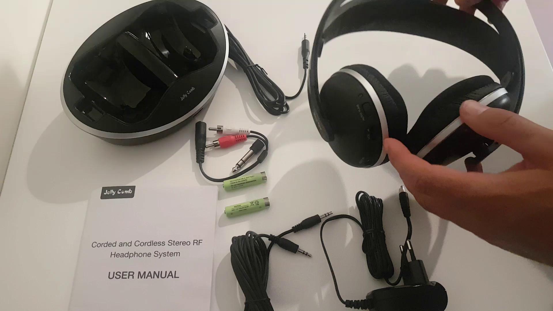 Amazon.es:Opiniones de clientes: Jelly Comb Inalámbricos Auriculares de Diadema Estéreo Reducción del Ruido con Cargador Base, Control de Volumen para Móvil ...