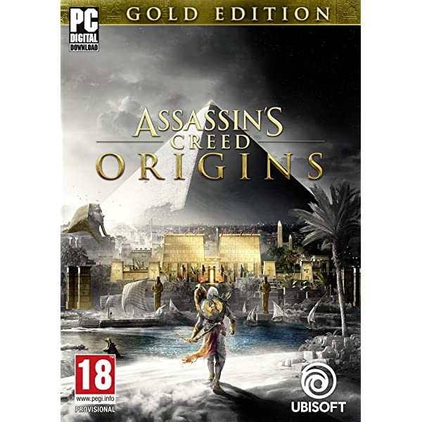 Assassin's Creed Origins – Gold Edition [PC Code – Uplay] A1AFcr3HQqL