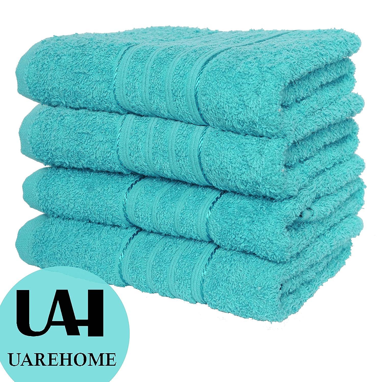 Set Von 4 Reine Ägyptische Baumwolle Handtücher Badezimmer Geschenk Set  Jumbo Tabelle Bale Handtücher, Weiß, Jumbo Sheet 90 X 180: Amazon.de: Küche  U0026 ...