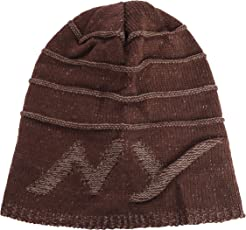iSweven Unisex Woolen Beanie Cap (Avaialble with 8 Different Designs and Colours, Free Size)