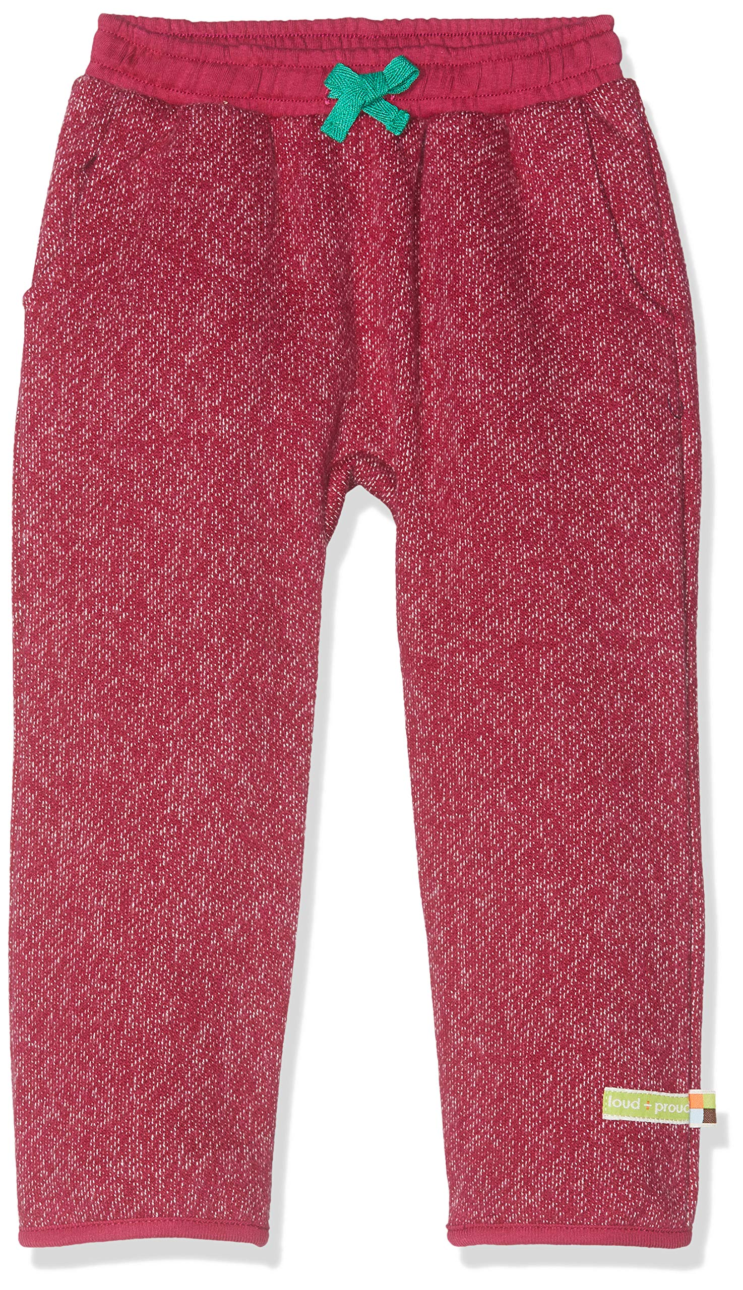 loud + proud Hose In Melange Strick Aus Bio Baumwolle, Gots Zertifiziert Pantalones para Bebés 1