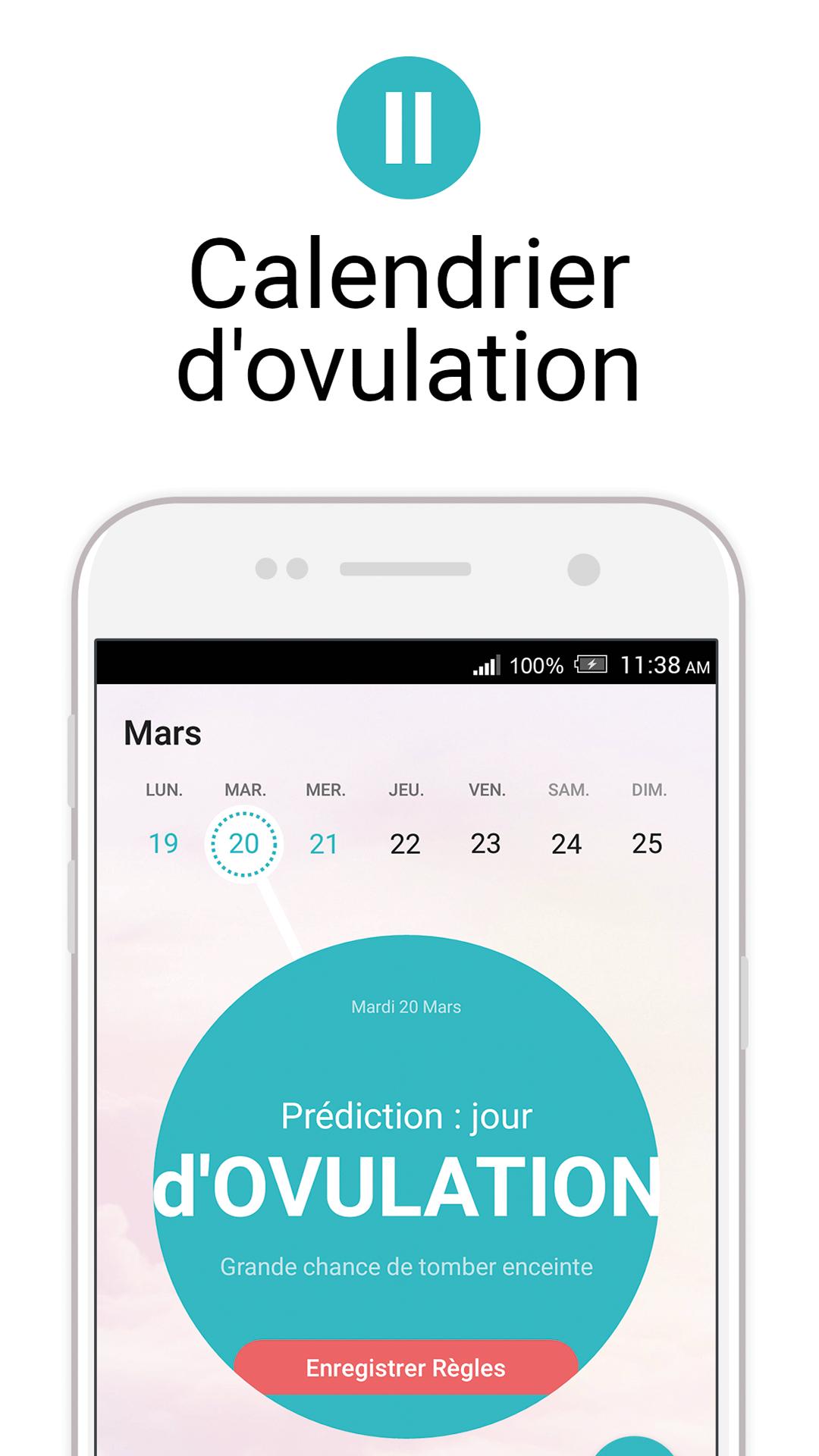 Flo Calendrier Des Regles Periode D Ovulation Amazon Fr