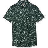 Amazon Brand - Goodthreads Men's Slim-fit Short-sleeve Anchor-print Shirt Short Sleeve Shirt
