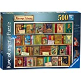 Ravensburger VintAge Library 500 Piece Jigsaw Puzzle for Adults & for Kids Age 10 and Up