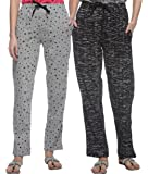 SHAUN Women's Regular Fit Trackpants (Pack of 2)