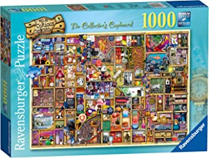 Ravensburger The Curious Schrank Nr. 6 – The Collector 's Schrank, Spielset Puzzle, 1000 Einzelteile