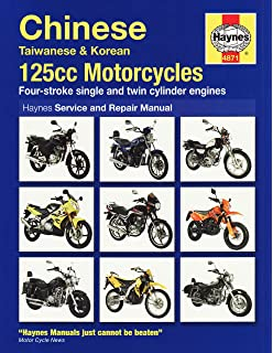Chinese 125 Motorcycles Service And Repair Manual Service Repair Manuals Amazon Co Uk Coombs Matthew 9781844258710 Books