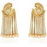 Shining Diva Fashion Jewellery Gold Plated Stylish Jhumka Jhumki Traditional Earrings for Women