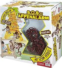 Mattel Games 52563 - S.O.S. Affenalarm Geschicklichkeitsspiel