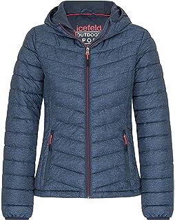 Nordcap Damen Jacke in Daunenoptik, warme Steppjacke, tolle