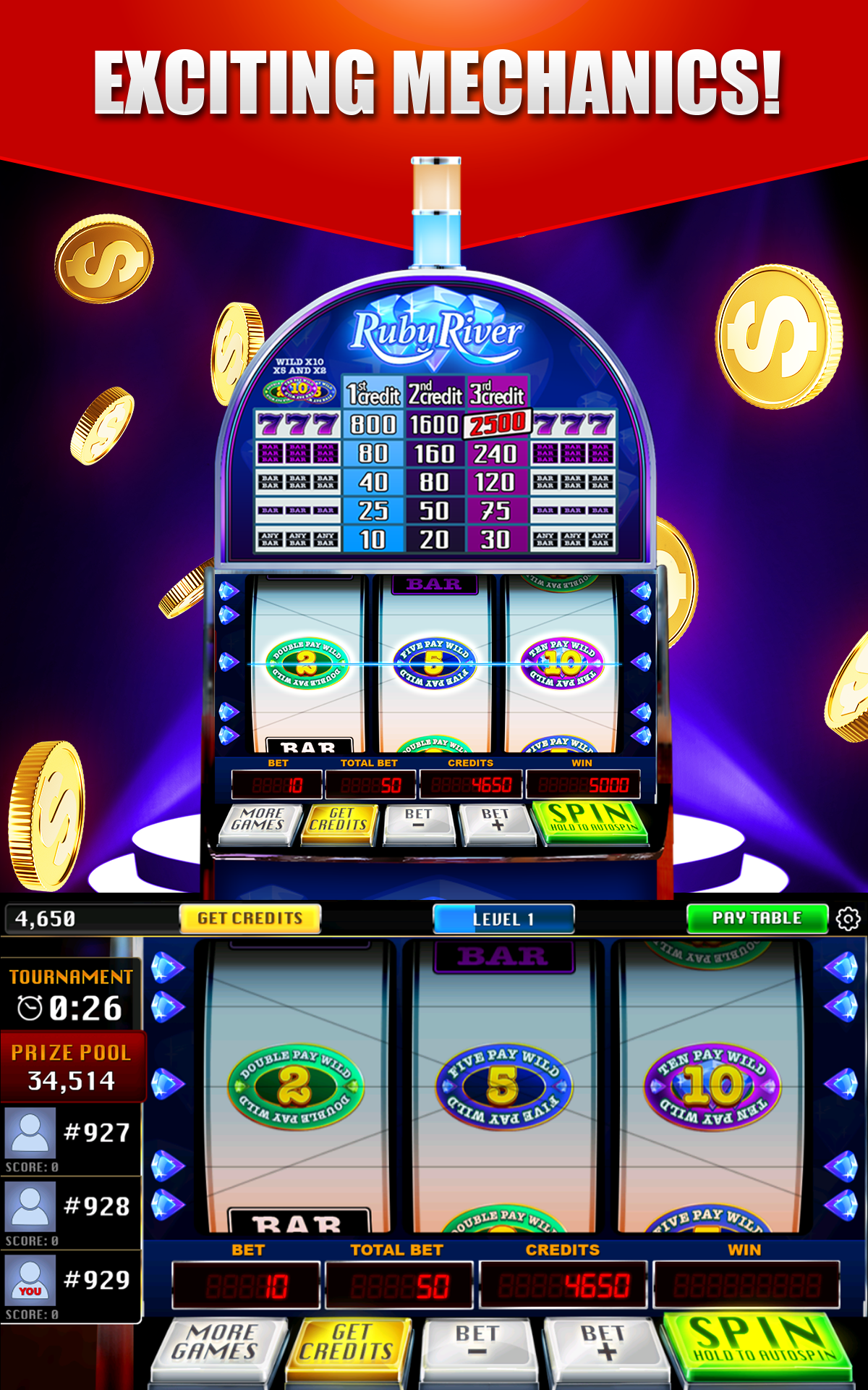 Free Vegas Slot Games With Bonus Rounds