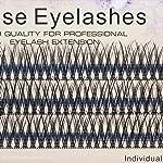 Scala 120Ppcs Fish Tail False Lashes 0.07 Thickness 20 Roots Hair C curl Eyelash Extension Strip False Eyelashes Makeup...