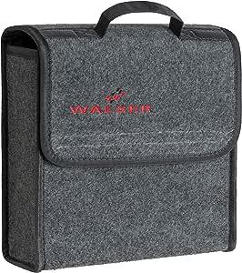 Walser Kofferraumtasche Toolbag Größe S Nadelfilz Kofferraum Organizer Autotasche Aufbewahrungstasche Kofferraum Toolbag 29x28x13 Cm Auto