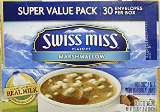 Swiss Miss Classics Hot Cocoa Mix with Marshmallows, 0.73 Oz, 30 Count