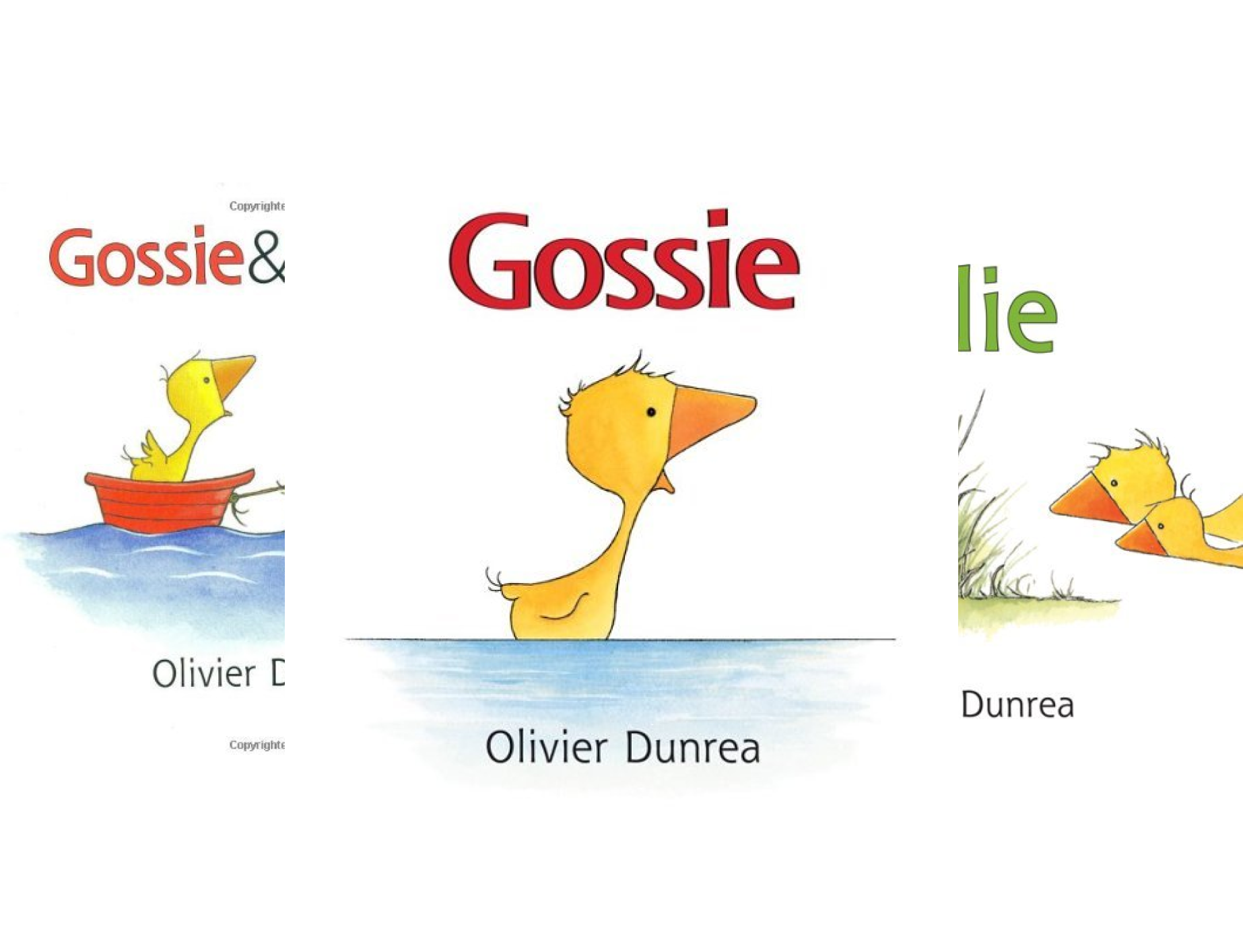 Gossie and Friends Board Book Set (Gossie & Friends) (4 Book Series)