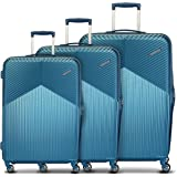 American Tourister Georgia Polycarbonate Moonlight Blue Hardsided Luggage Set (FS3 (0) 21 004)