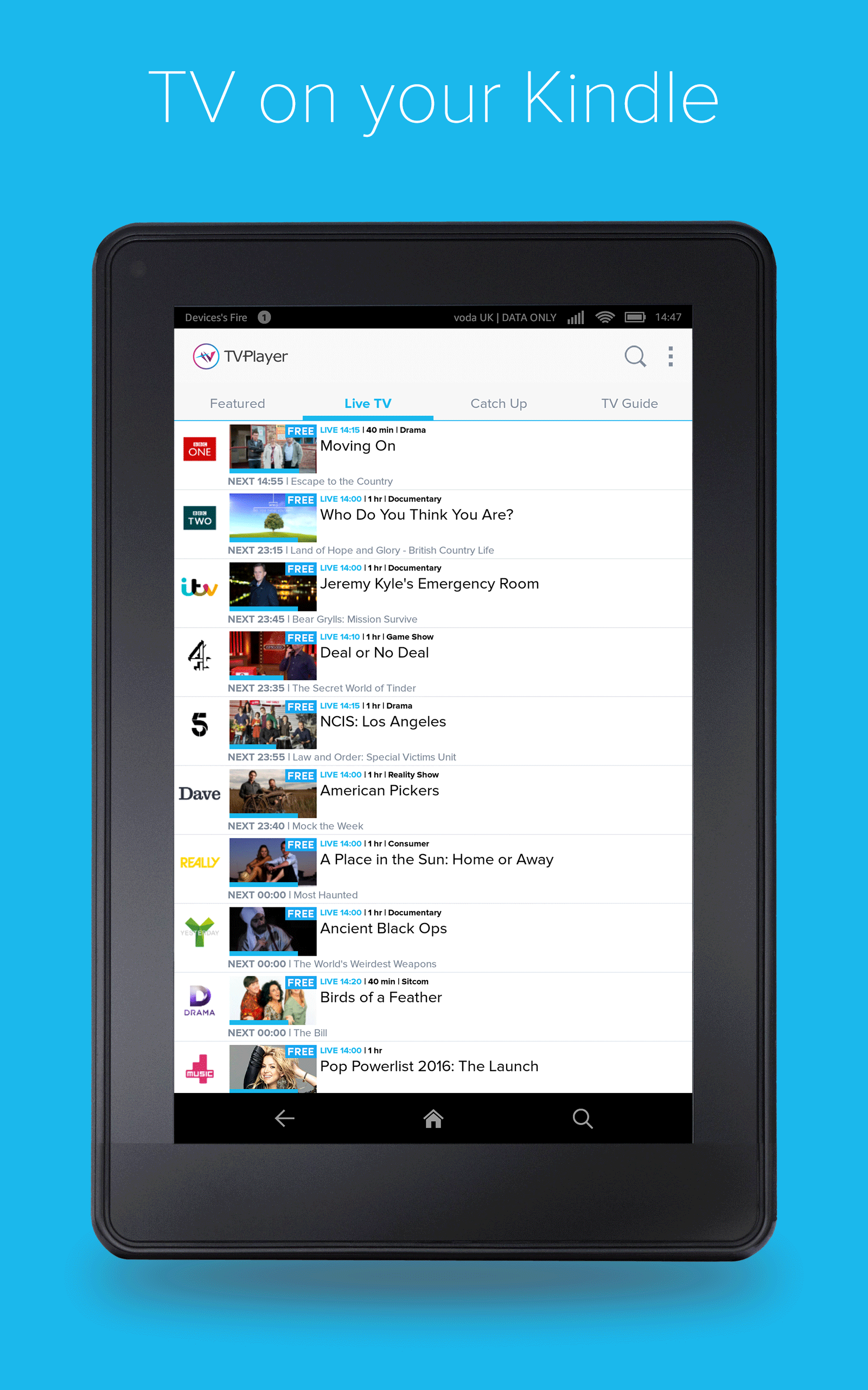 TVPlayer: Amazon.co.uk: Appstore for Android